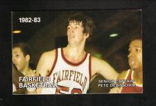 Fairfield Stags--1982-83 Basketball Pocket Schedule--Tom Brennan Real Estate