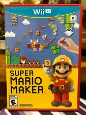 Nintendo Wii U Game Super Mario Maker (Very Low Price!)