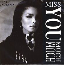"""Janet Jackson 7"""" Miss You Much - Germany"""
