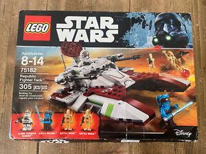 Lego Star Wars 75182 Clone Republic Fighter Tank Set