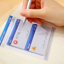 Creative Computer System Shape Memo Pad Diy Diary Notes Sticky Office Supplies