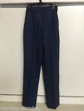 NEW 18 MR US Army Service Uniform ASU Womens Dress Blue Enlisted Trousers Pants