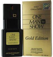 Jacques Bogart One Man Show Eau De Toilette Spray for Men 3.33 oz (Pack of 2)