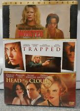 Monster / Trapped / Head in the Clouds (DVD 3 Disc Set) RARE BRAND NEW