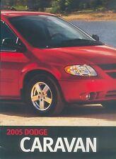 0004DG Dodge Caravan Prospekt USA GB 2005 brochure prospectus broschyr brosjyre