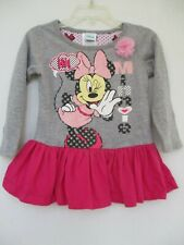 Disney Baby Girl's Size 24M Long Sleeve Minnie Mouse Dress