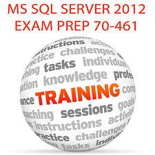 MS SQL SERVER 2012 EXAM 70-461 - Video Training Tutorial DVD
