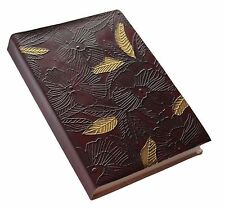 Handmade Blossom Embossed Genuine Leather Journal / Intagram Photo Album