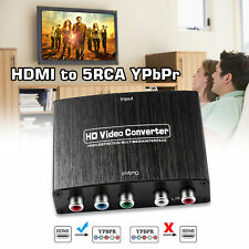 HDMI To 5RCA RGB Component YPbPr Video R/L Audio Adapter Converter For HD TV USA