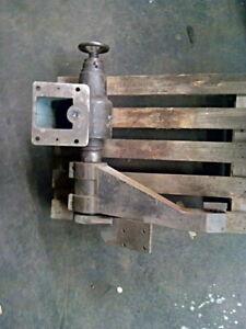 Schwenk o.- Abrichtarm für Rundtisch Flachschleifmaschine oder Läppmaschine