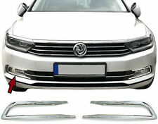 Molduras Cromadas Antinieblas Delanteros para VW Passat 3G B8 desde 2014