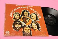 JOHN LEE HOOKER & CANNED HEAT 2LP BOOGIE ORIG USA 1974 NM TOP JAZZ BLUES