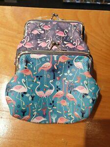 Flamingo Tick Tac Purses - 2 colours
