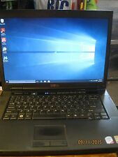 "Dell Vostro 1510 15.4"" Core 2 Duo 2.5 3GB Memory 250 GB HDD DVD+RW Laptop Win 10"