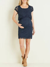 Crossroads Lace Nursing friendly Maternity overlay desk to dinner DRESS 16 NEW