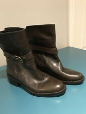 NWOB Coach Leather Jesika Mid Calf Moto Boot, size 8