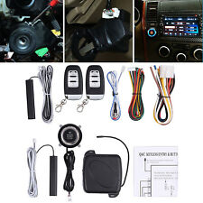 Car Safety Alarm Start System Kit Smart Keyless Entry Ignition Starter Button