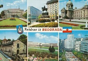 Beograd Mehrbildkarte gl1973 111.768