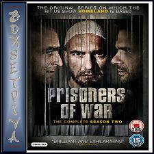 PRISONERS OF WAR - COMPLETE SEASON 2 **BRAND NEW DVD **