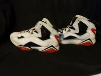 Air Jordan Men's Retro White Red Black Sneaker Shoes 2013 Size 7.5 (342964-112)