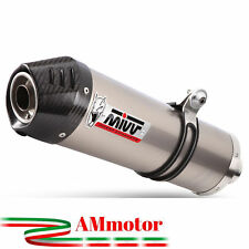 Mivv Bmw R 1150 R 2000 00 Pot D' Echappement Moto Oval Titanium Carbon Cap