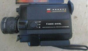 vintage CANON 310XL macro 8.5-25.5mm 1.0 zoom SUPER 8 C-8 8mm Movie Camera