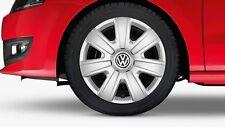 1 Satz Original VW Volkswagen Polo 6R Radkappen Radzierblenden 14 Zoll 6R0071454