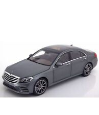 I-SCALE 2017 Mercedes Benz S Klasse V222 MOPF Grey (DEALER) 1:18*New Item!