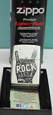 zippo    Rock Hand avec ça recharge, Collection , musique,métal,groupe