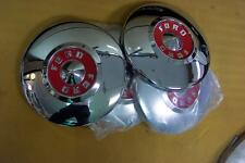 1955 Ford NEW Set of 4 Hubcaps - All Show Condition Also 1955 Thunderbird 55