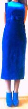stunning blue velvet dresses hand finished