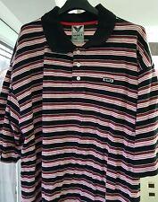 Men's Avirex T-shirt Polo, Striped, Big Size 2XB - NWT