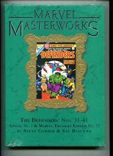 MARVEL MASTERWORKS THE DEFENDERS VOL 224 NM GRADE HARDCOVER GOLD LEAF COVER BUSC