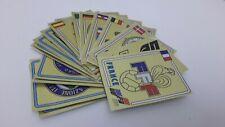 EURO 84 Scudetto Badge CALCIATORI PANINI EUROPA 1984 SCEGLI figurina recuperata