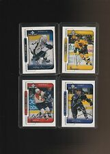 1999-00 Upper Deck MVP Silver Script Kozlov Allison Ronning Tsyplakov  Lot of 4