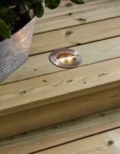 3x LED Solar Bodenleuchte im Set je 2 warmweiße LEDs IP44 Einbauleuchte