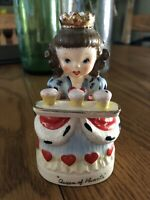 1943 Vintage Very Rare Napco QUEEN OF HEARTS Figurine Japan