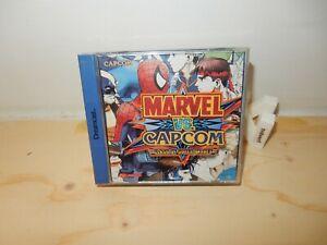 PAL DC: Marvel vs. Capcom Clash Super Heroes Complete CIB Boxed Sega Dreamcast