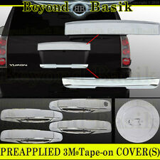 2007-2014 GMC YUKON , XL Chrome Tailgate+Lower Liftgate+Gas+Door Handle COVERS