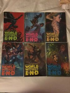World Without END #1-6 (6 Comic Lot) DC Comics 1991 Very Nice!
