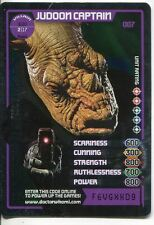 Doctor Who Monster Invasion Card #007 Judoon Captain