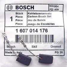 Bosch véritable carbone brosses pour gws 1400 C Meuleuse d'angle partie 1 607 014 176
