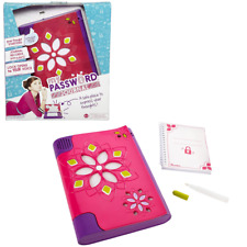 My Password Journal Voice Activated Unlocking Invisable Ink Secret Compartment
