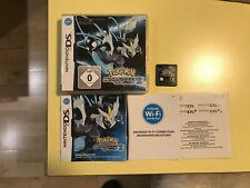 Pokemon: Black Version 2 (Nintendo DS, 2012) GERMAN (Schwarze 2)