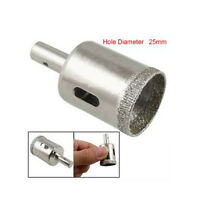 """25mm 1""""Glass Tile Tipped Hole Saw Diamond Core Drill Professional Metal Tools TO"""