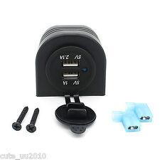 Portable Dual Car USB Charger Ports For smart phones, GPS navigation, Tablet PC