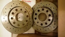 Audi A3 /SEAT/ Skoda /VW 256mm Rear Discs