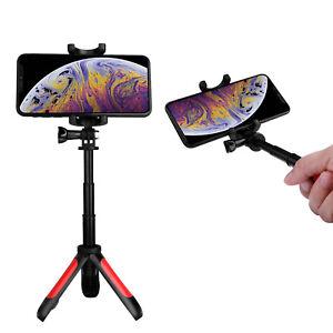 Portable Folding Desktop Tripod Selfie Stick Extendable Phone Stand Mount Holder