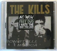 THE KILLS - NO WOW - Limited Edition CD + DVD Nuovo Unplayed