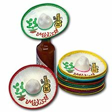 Mini Mexico Sombreros Dozen Hat Party Favors Decorations Mariachi Charro Mexican